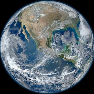 Die Erde - unser aller Planet.
